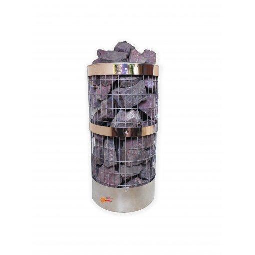 Электрокаменка ЭКМ-10.5 нержавеющая сетка