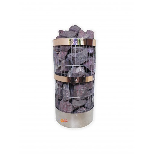 Электрокаменка ЭКМ-4,5 нержавеющая сетка