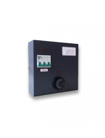 Пульт управления электроводонагревателем ПУ ЭВН 3/6 с автоматическим выключателем
